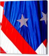 Historical American Flag Canvas Print