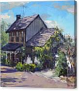 Historical House Ontario Canvas Print