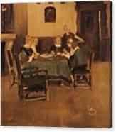 Historical Interior Canvas Print