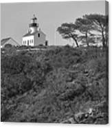 Historical Lighthouse- Point Loma Canvas Print