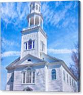 Historical Old First Church Canvas Print