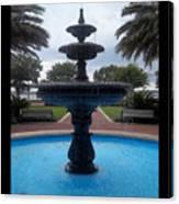 Historical Saint Marys Water Fountain Canvas Print