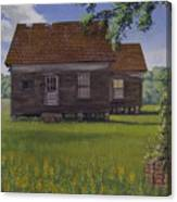 Historical Warrenton Farm House Canvas Print