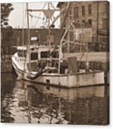 Historical Waterfront  Canvas Print