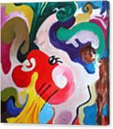 Histrionics Canvas Print