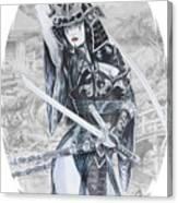Ken No Yuri Canvas Print