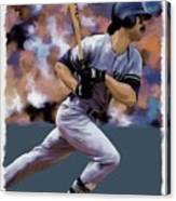 Hit Man  Don Mattingly  Canvas Print