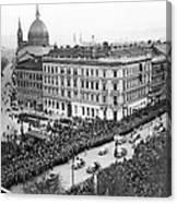 Hitler Enters Vienna Canvas Print