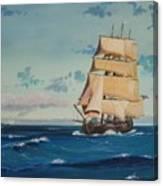 Hms Bounty On Lake Superior Canvas Print