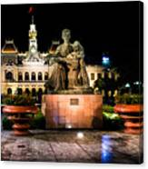 Ho Chi Minh City Hall At Night Canvas Print