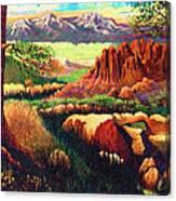 Hobbit Land Canvas Print