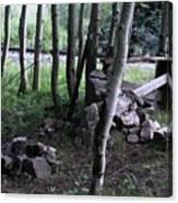 Hobo Camp In Animas Canyon Canvas Print