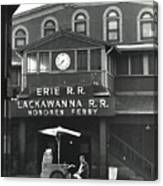 Hoboken Ferry C1966 Canvas Print