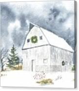 Hoff Horsebarn Canvas Print