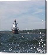 Hog Island Shoal Lighthouse Canvas Print