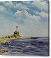 Hogby Lighthouse Canvas Print