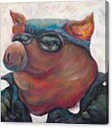 Hogley Davidson Canvas Print