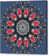 Valkyrie Kaleidoscope 2 Canvas Print