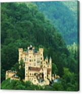 Hohenschwangau Castle 1 Canvas Print