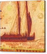 Hokulea At Anchor Canvas Print