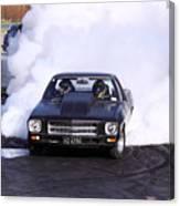 Holden Doing Burnout Canvas Print