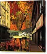 Holden Street Canvas Print