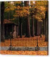 Holderness Cemetery Canvas Print