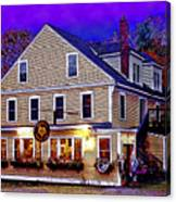 Holderness General Store Canvas Print