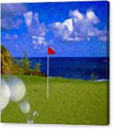 Fantastic 18th Green Canvas Print