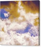 Hole In The Cloud Canvas Print