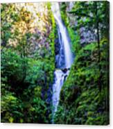 Hole In The Wall Falls Canvas Print