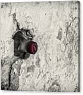 Coke In The Wall Canvas Print