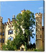 Holenschwangau Castle 2 Canvas Print