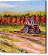 Holicong Road Farm Canvas Print
