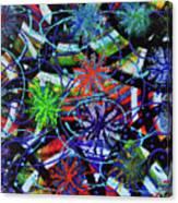 Holiday Abstract  Canvas Print