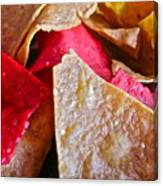 Holiday Chips Canvas Print
