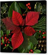 Holiday Greenery Canvas Print