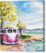 Holiday In Cala Ratjada Canvas Print