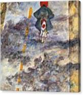 Holiday Vespa Canvas Print