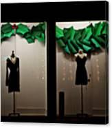 Holiday Window Fashion Canvas Print