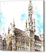 Holland Beautiful Town Canvas Print