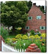 Holland English Garden Canvas Print
