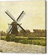 Holland - Windmill Canvas Print