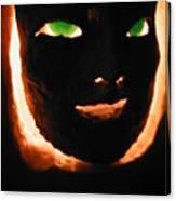 Holloween Mask Canvas Print