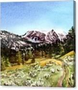 Hollowtop Canvas Print