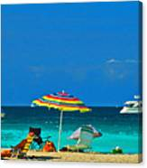 Hollywood Beach Florida Canvas Print