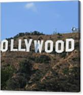 Hollywood Canvas Print