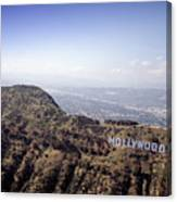 Hollywood Sign, Built Ca. 1923 By Mack Canvas Print
