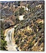 Hollywood Sign / Hollywood Hills Canvas Print