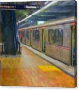 Hollywood Subway Station Canvas Print